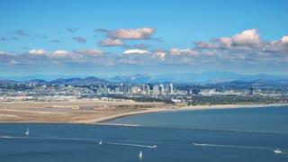 San Diego Ocean Time Lapse