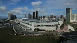 San Diego Skyline TIme Lapse Convention Center Day 2