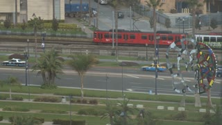 San Diego Trolley Light Rail train