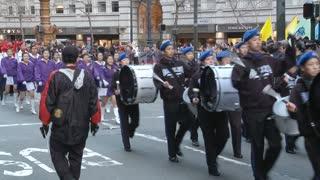 San Fran Parade Marching