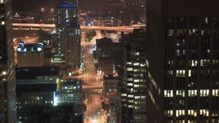 San Francisco City Street Overlook Timelapse