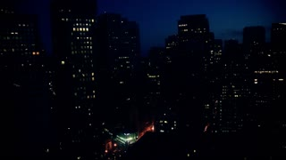 San Francisco City Sunrise Timelapse