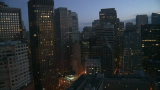 San Francisco Downtown Sunrise Timelapse