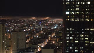 San Francisco Foggy City Timelapse