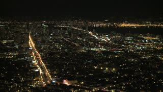 San Francisco Night Traffic Timelapse