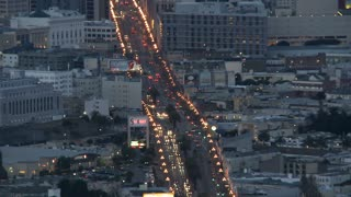 San Francisco Night Traffic