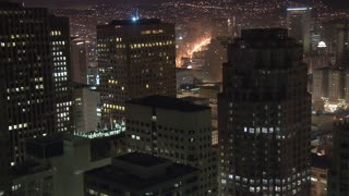 San Francisco Skyline Sunrise Timelapse