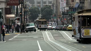 San Francisco Street Cable Cars