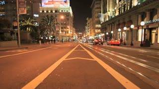 San Francisco Street Nightlapse