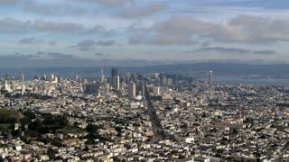 San Fransico Sky Time Lapse