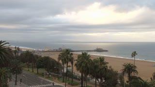 Santa Monica Beach Landscape