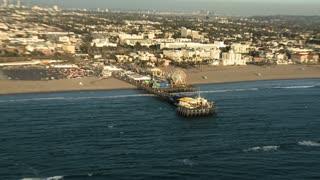 Santa Monica Pier Aerial
