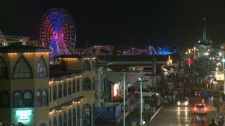 Santa Monica Pier Nighttime