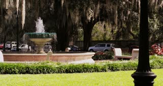 Savannah Square with Fountain