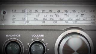 Scanning Radio Dial