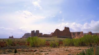 Scenic Arches National Park Timelapse 2