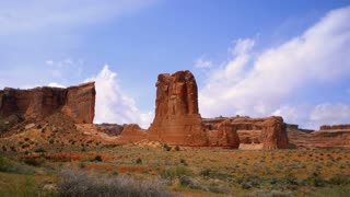 Scenic Arches National Park TImelapse