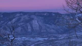 Scenic Aspen Sunset