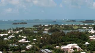 Scenic Bermuda Landscape Timelapse