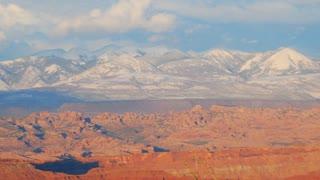 Scenic Canyon Landscape Timelapse