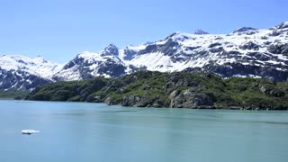 Scenic Glacier Side In Alaska 2