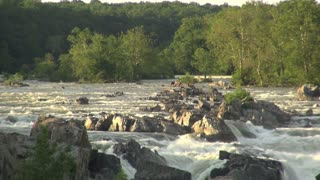 Scenic Potomac River in Evening Sun 1