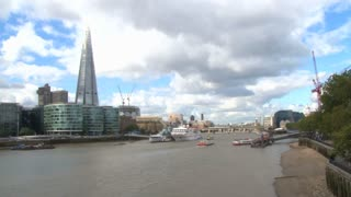 Scenic River Thames View