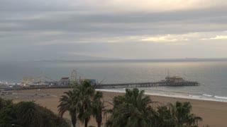 Scenic Santa Monica Pier