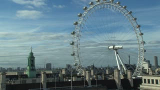 Scenic Skyline With London Eye