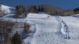 Scenic Vail Ski Slope