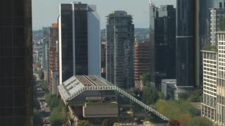 Scenic Vancouver City Center