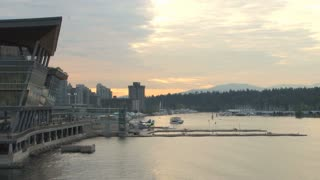 Scenic Vancouver Harbor