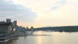 Scenic Vancouver Port