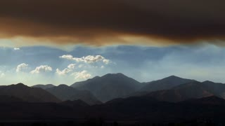 Scenic Vibrant Mountain Landscape Timelapse