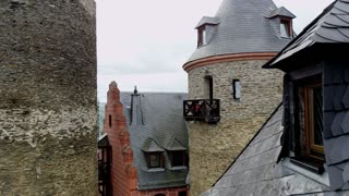 Schonburg Castle Tower and Balcony 2