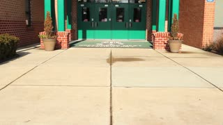 School Entrance Tilt