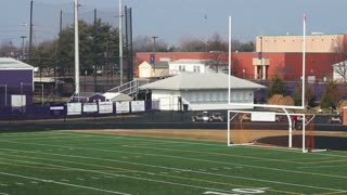 School Football Field Endzone
