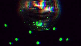 Scratch Film Disco Ball