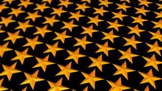 Scrolling Golden Stars