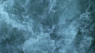 Sea green water with white waves 3