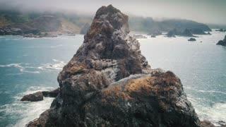 Seagull Rock Coast Aerial