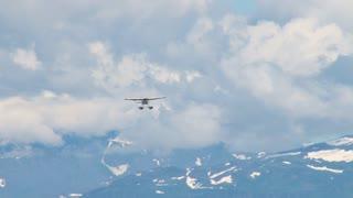 Seaplane Approaching