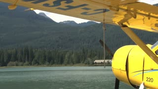 Seaplane Close Sideview