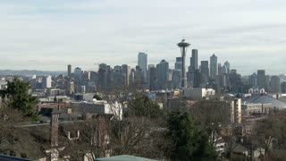Seattle downtown area