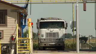 Semi Truck With Industrial Equipment