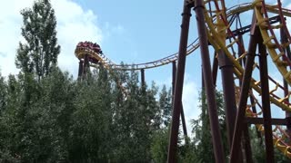 Series of Loops on Roller Coaster