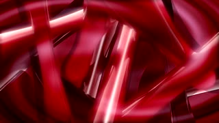 Shaking Red Abstract Shape
