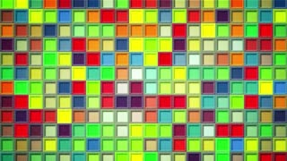 shimmering colorful squares loopable background 4k (4096x2304)