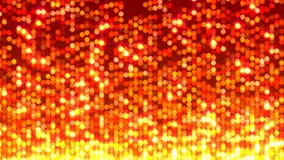 Shimmering Fire Orbs