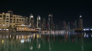 Shimmering Water Downtown Dubai